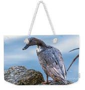 Gray Lady Weekender Tote Bag
