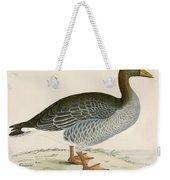 Gray Lag Goose Weekender Tote Bag