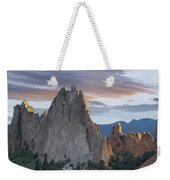 Gray Rock And South Gateway Rock Garden Weekender Tote Bag