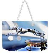 Grayhound Glamour Weekender Tote Bag