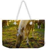 Grazing At Sunset Weekender Tote Bag