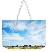Grazing Cattle Weekender Tote Bag