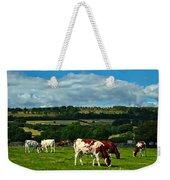 Grazing Cows Weekender Tote Bag
