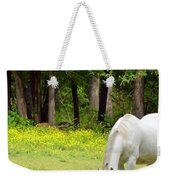 Grazing In Golden Fields Weekender Tote Bag