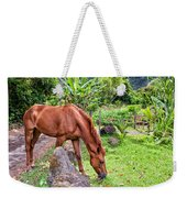 Grazing In Paradise Weekender Tote Bag