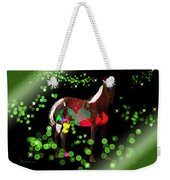 Grazing In The Grass - Featured In Visions Of The Night Group Weekender Tote Bag