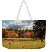 Grazing On The Farm Weekender Tote Bag by Joann Vitali
