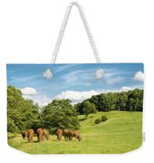 Grazing Summer Cows Weekender Tote Bag