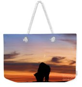 Grazing Under The Moon Weekender Tote Bag