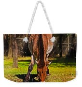 Grazing With An Attitude Weekender Tote Bag