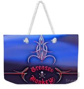 Greased Monkey Weekender Tote Bag