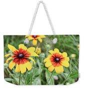 Great Blanket Flower Gaillardia Weekender Tote Bag