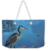Great Blue Along The Canal Weekender Tote Bag