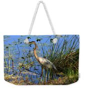 Great Blue Weekender Tote Bag