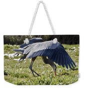 Great Blue Dining Out Weekender Tote Bag