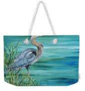 Great Blue Heron-2a Weekender Tote Bag