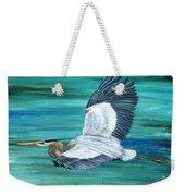 Great Blue Heron-3a Weekender Tote Bag