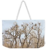 Great Blue Heron Colony Weekender Tote Bag