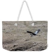 Great Blue Heron Flight Weekender Tote Bag
