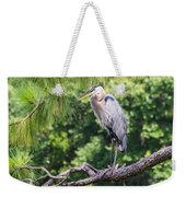 Great Blue Heron I Weekender Tote Bag