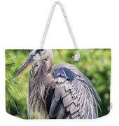 Great Blue Heron Iv Weekender Tote Bag