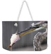 Great Blue Heron - Just Fred Weekender Tote Bag