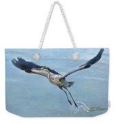 Great Blue Heron Take Off Weekender Tote Bag