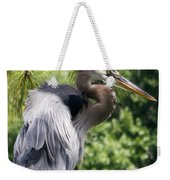 Great Blue Heron Vi Weekender Tote Bag