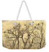 Great Blue Herons Colonies Fine Art Weekender Tote Bag