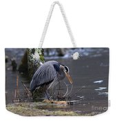Great Blue On The Clinch River II Weekender Tote Bag