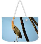 Great Blue Sunset Weekender Tote Bag