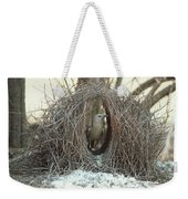 Great Bowerbird Male In Bower Australia Weekender Tote Bag