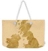 Great Britain Map Weekender Tote Bag