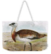 Great Bustard Weekender Tote Bag
