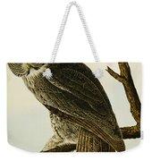 Great Cinereous Owl Weekender Tote Bag