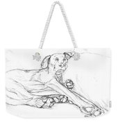 Great Dane Dog Sketch Bella Weekender Tote Bag