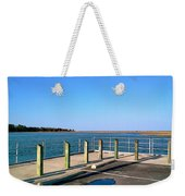 Great Day For Fishing In The Marsh Weekender Tote Bag