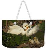 Great Egret 2am-7177 Weekender Tote Bag