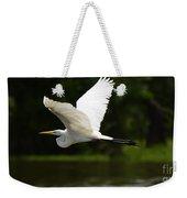 Great Egret Amazon River Weekender Tote Bag