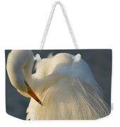 Great Egret Grooming Weekender Tote Bag