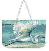 Great Egret I Weekender Tote Bag