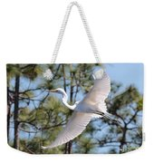 Great Egret Spirit Weekender Tote Bag