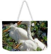 Great Egrets Weekender Tote Bag