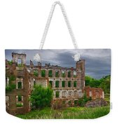 Great Falls Mill Ruins Weekender Tote Bag
