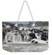 Great Falls Of The Potomac River Weekender Tote Bag