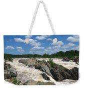 Great Falls On The Potomac Weekender Tote Bag