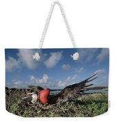 Great Frigatebird Female Eyes Courting Weekender Tote Bag