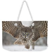 Great Gray Owl Pictures 634 Weekender Tote Bag