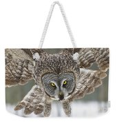 Great Gray Owl Pictures 648 Weekender Tote Bag