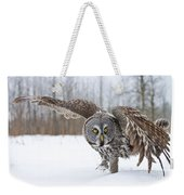 Great Gray Owl Pictures 658 Weekender Tote Bag